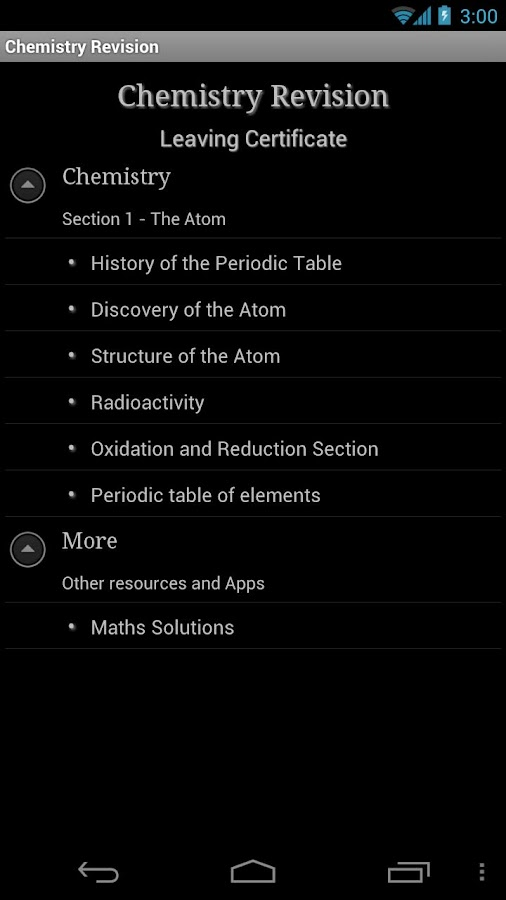 Revision Chemistry- screenshot