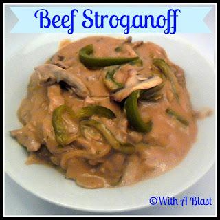 Beef Stroganoff {very creamy}