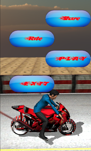 Motorcycle 3D racing path