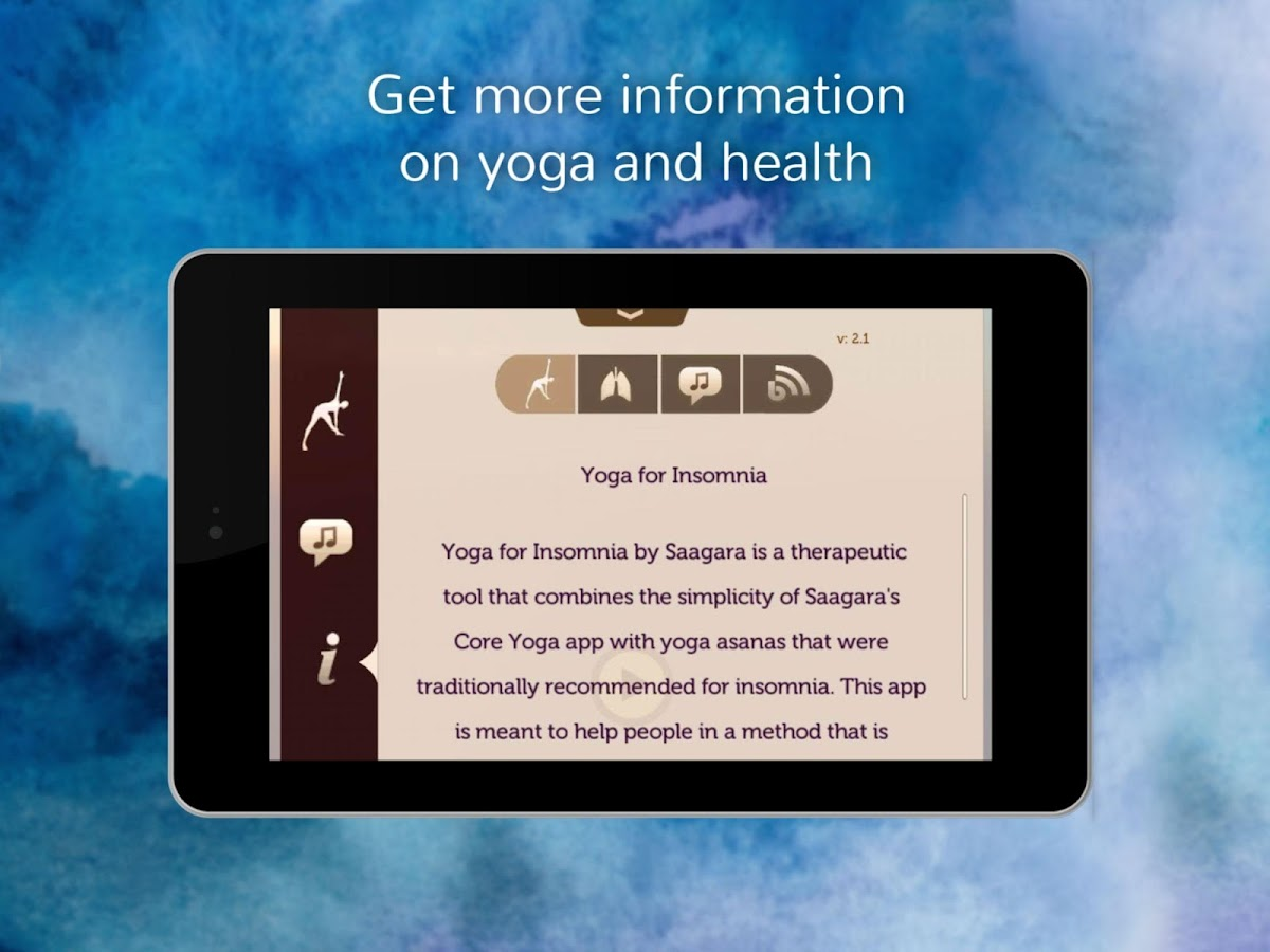 Yoga for Insomnia- screenshot