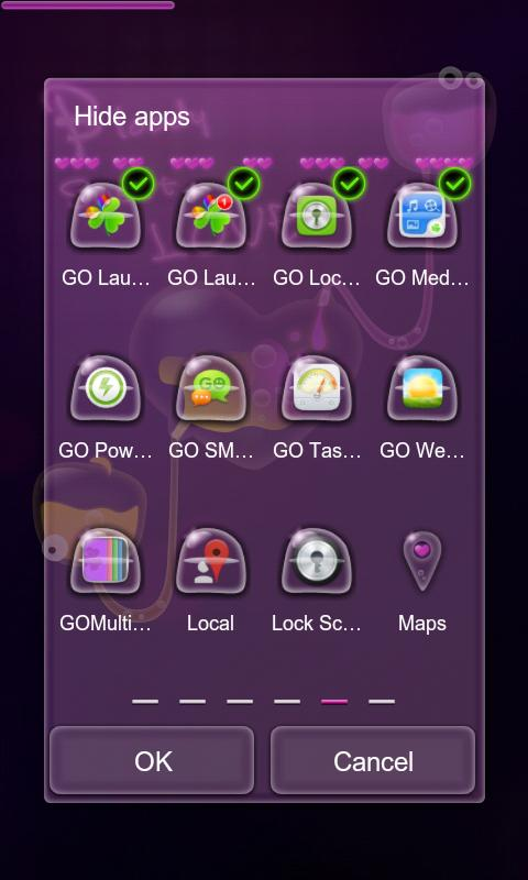B.S.Love Next Launcher Theme - screenshot