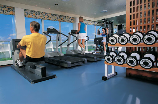 Regent-Seven-Seas-Navigator-Gym - Stay fit during your cruise by hitting the well-equipped gym aboard Seven Seas Navigator.