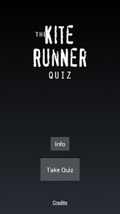 The Kite Runner Quiz - screenshot thumbnail