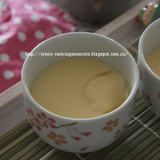 鲜奶炖蛋 Steamed Egg Custard(Dessert Version)