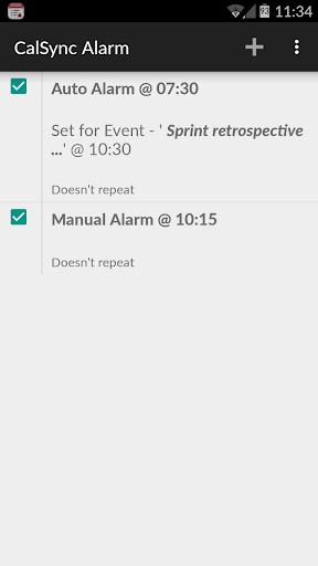 CalSync Alarm