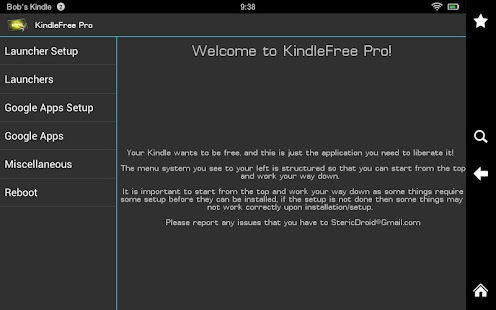 KindleFree Pro- screenshot thumbnail