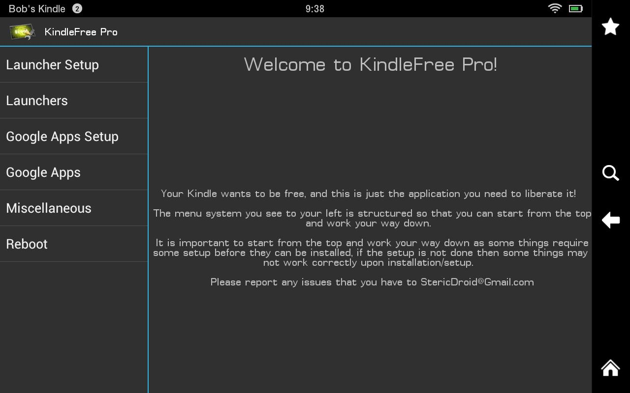 KindleFree Pro - screenshot