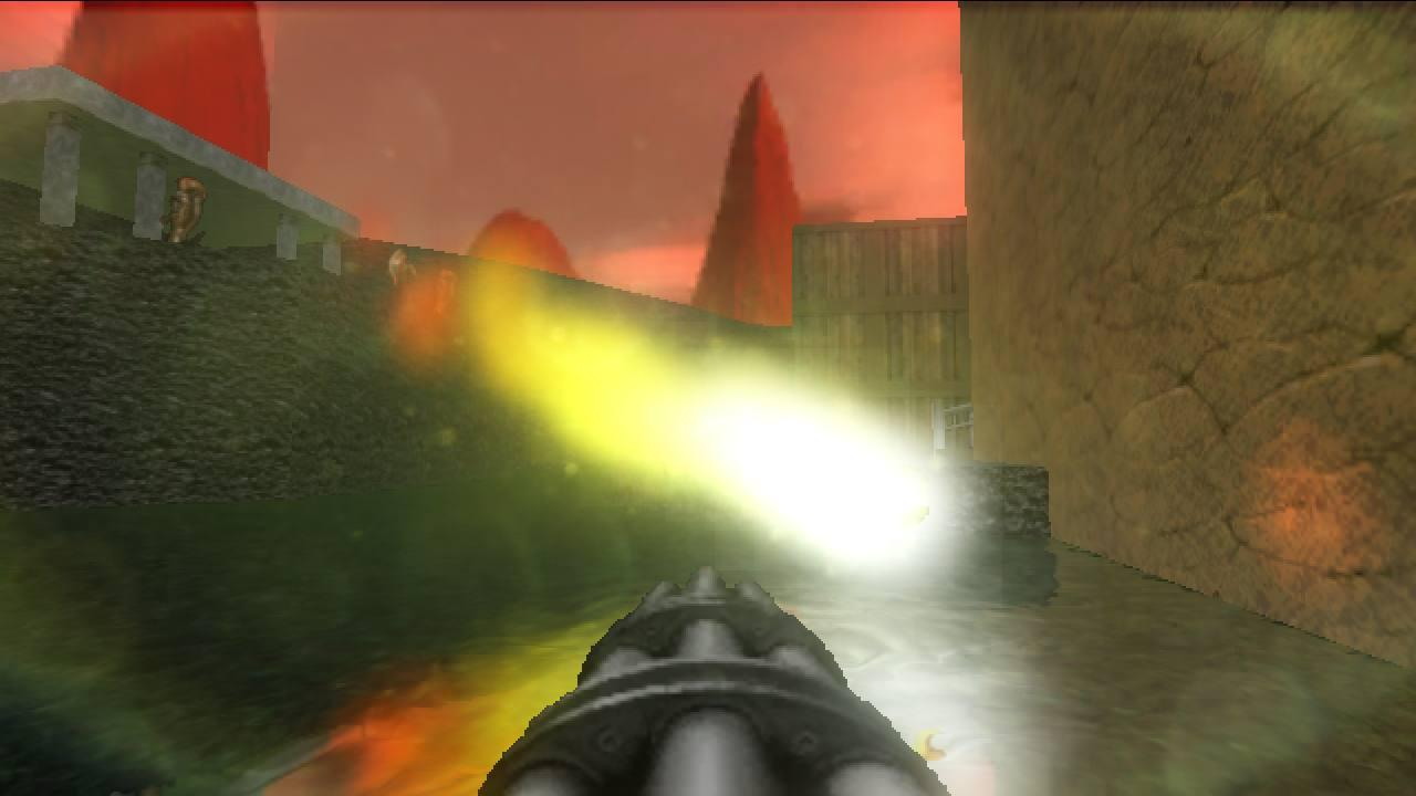 D-GLES Demo (Doom source port)- screenshot