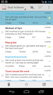 Goal Tracker - Habit Calendar - screenshot thumbnail