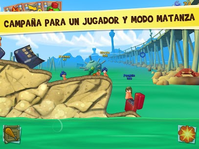 Worms 3 v2.06 APK 3
