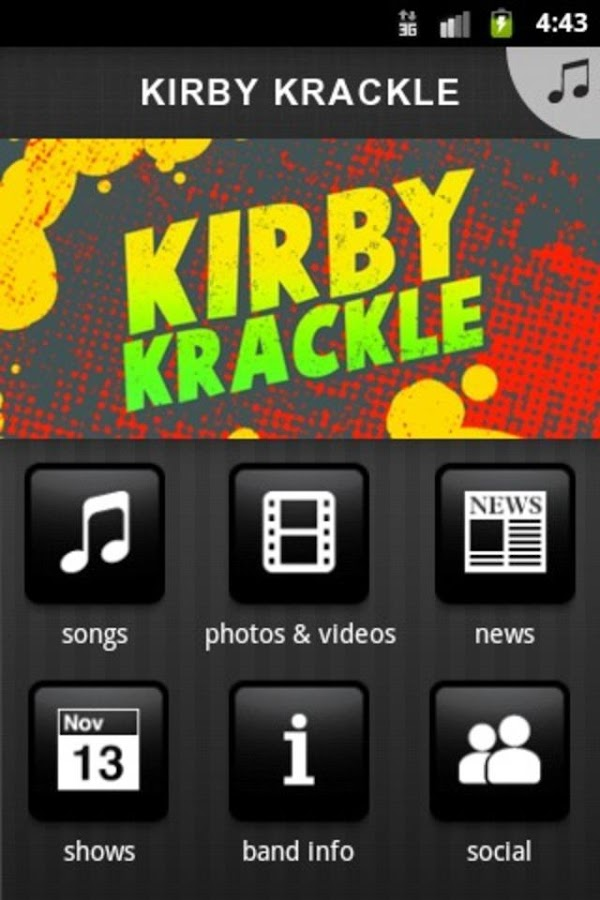 KIRBY KRACKLE - screenshot