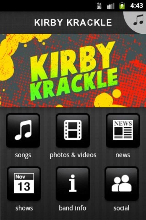 KIRBY KRACKLE - screenshot