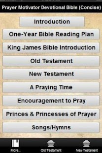The Prayer Motivator Bible- screenshot thumbnail
