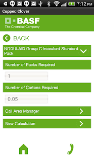 Inoculant Calculator - screenshot thumbnail