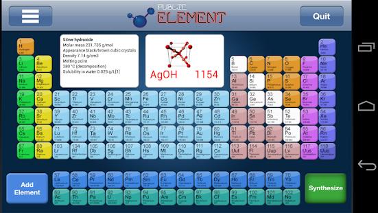 Periodic Table Game - screenshot thumbnail