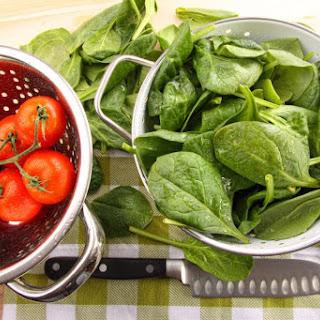 Spinach Tomato and Feta Melt
