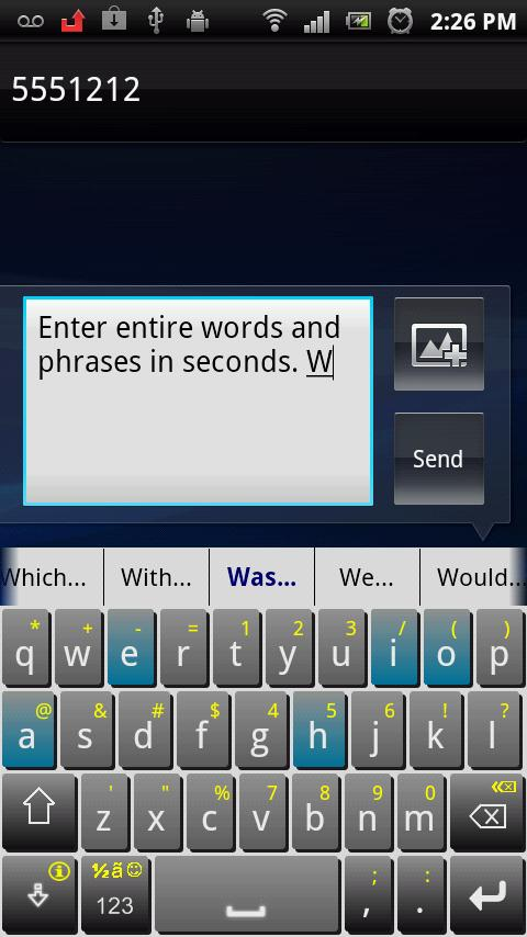 iKnowU Keyboard- screenshot