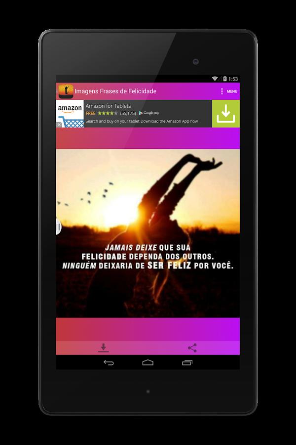 Imagens Frases De Felicidade Aplicaciones De Android En