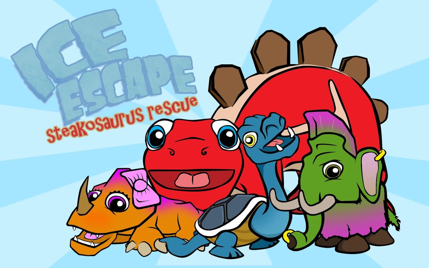 Ice Escape Steakosaurus Rescue Apl Android Di Google Play