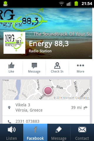 Energy 88.3- screenshot