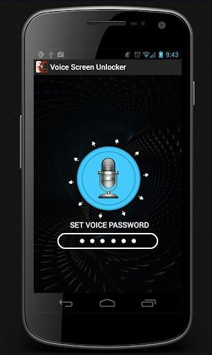 Voice Screen Unlocker
