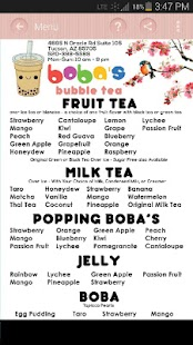 Bobas Bubble Tea- screenshot thumbnail