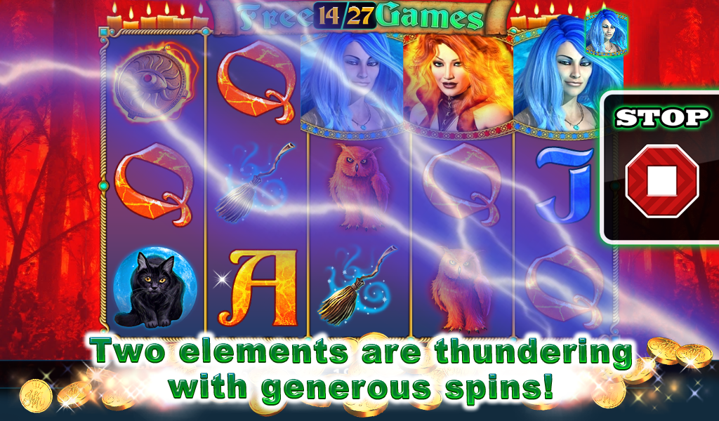 Ice and Flame Slot - screenshot