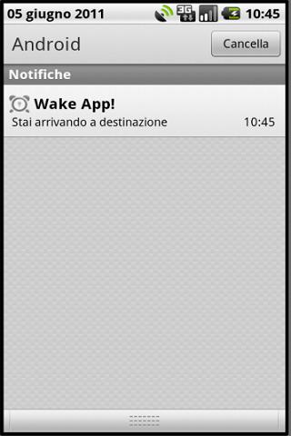 Wake App - screenshot