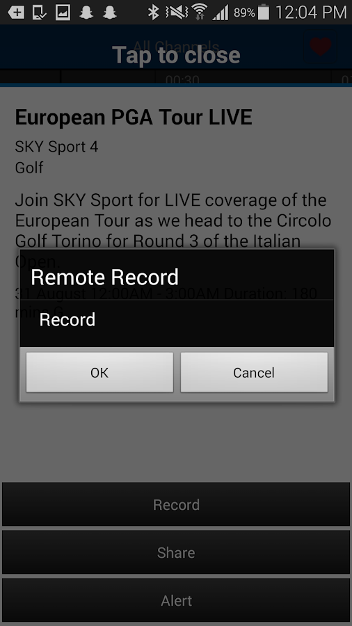 SKY TV NZ - screenshot