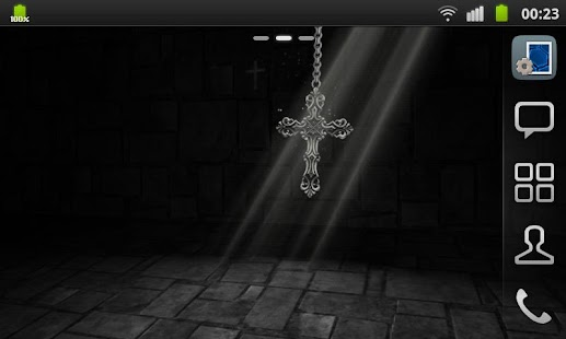 3D Cross Pendant Wallpaper - screenshot thumbnail