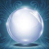 Talking Magic Crystal Ball