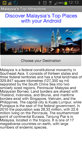 Malaysia's Top Places