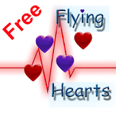 Free Flying Hearts