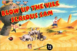 Screenshot of Serious Sam: Kamikaze Attack!