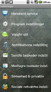 Handcent SMS Danish Language P- screenshot thumbnail
