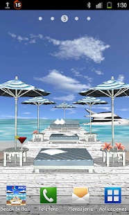 Beach In Bali 3D PRO LWP - screenshot thumbnail