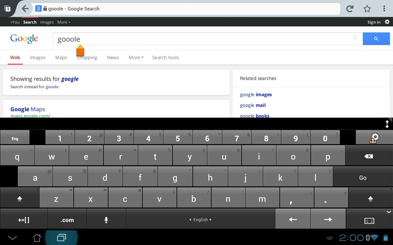 A.I.type Tablet Keyboard Plus - screenshot