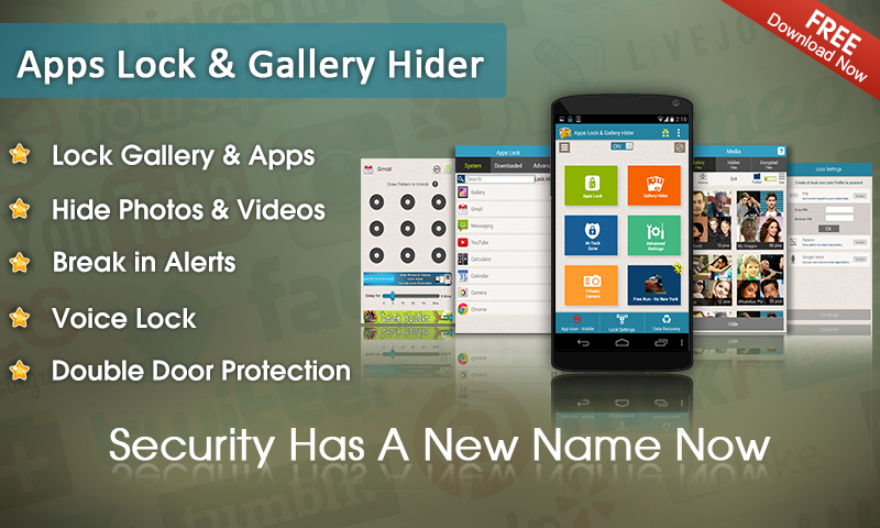 Apps Lock & Gallery Hider - screenshot