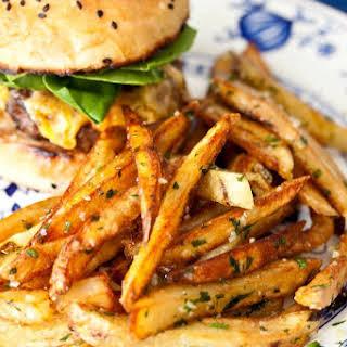 Garlic-Parsley Fries.