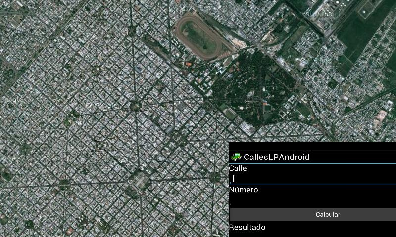 Calcula Calles La Plata - screenshot