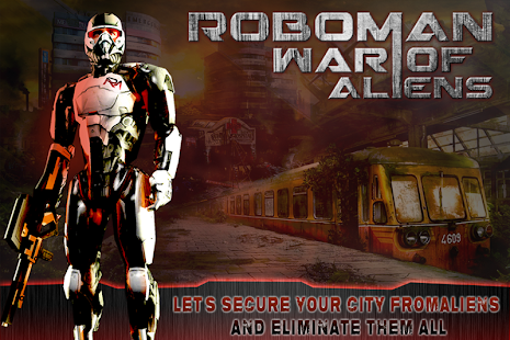 RoboMan - 外星人的戰爭