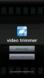 video trimmer - screenshot thumbnail