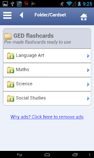 GED Flashcards - screenshot thumbnail
