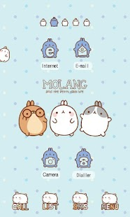 CUKI Themes molang friends