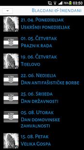 Kalendar (Blagdani&Imendani) - screenshot thumbnail