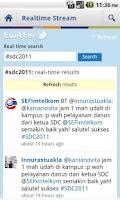 Screenshot of SDC 2011