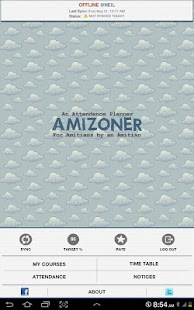 AMIZONER (for Amity Students) - screenshot thumbnail
