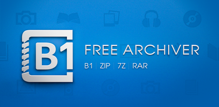 B1 Free Archiver zip rar unzip