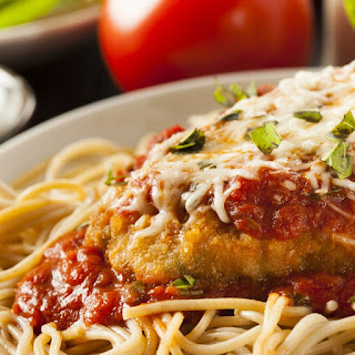 Pasta Chicken Parmesan