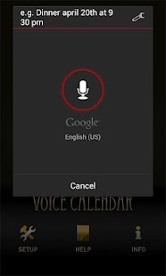 Voice Calendar- screenshot thumbnail